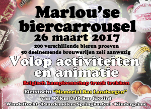 Marlou'se Biercarrousel 2017