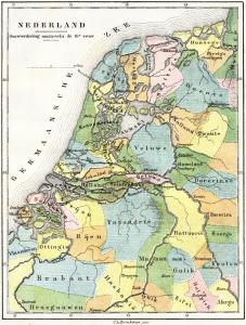 De Nederlanden omstreeks het jaar 1000